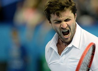 gilles simon defeats sergiy stakhovsky for gael monfils atp marseille tennis 2015