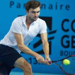 gilles simon ready for gael monfils balls at open 13 atp marseille tennis 2015