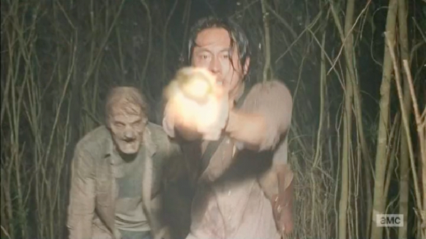 glenn light walking dead recap images 2015