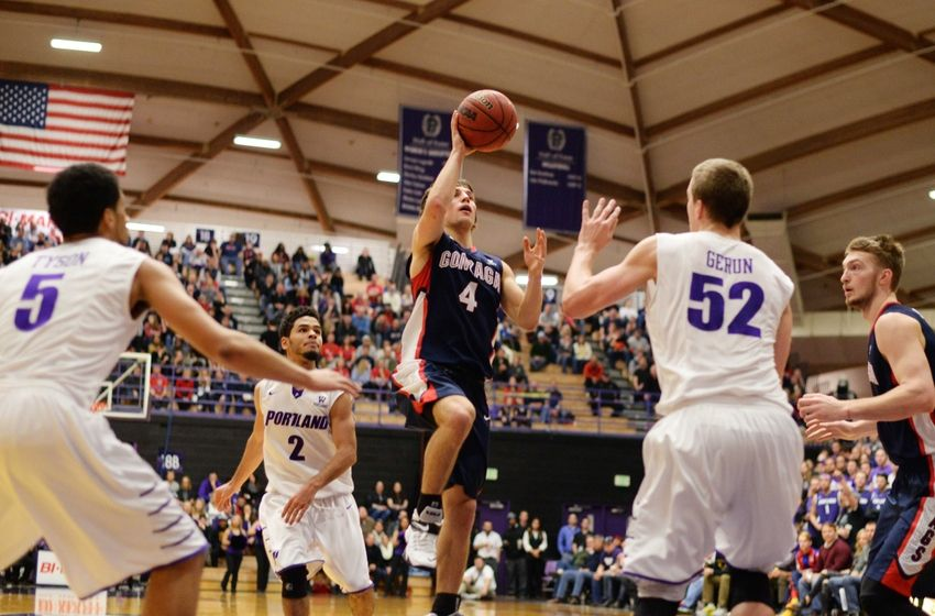 gonzaga beats portland basketball recap 2015 images