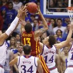 jayhawks beat west virginia basketball recap 2015 images