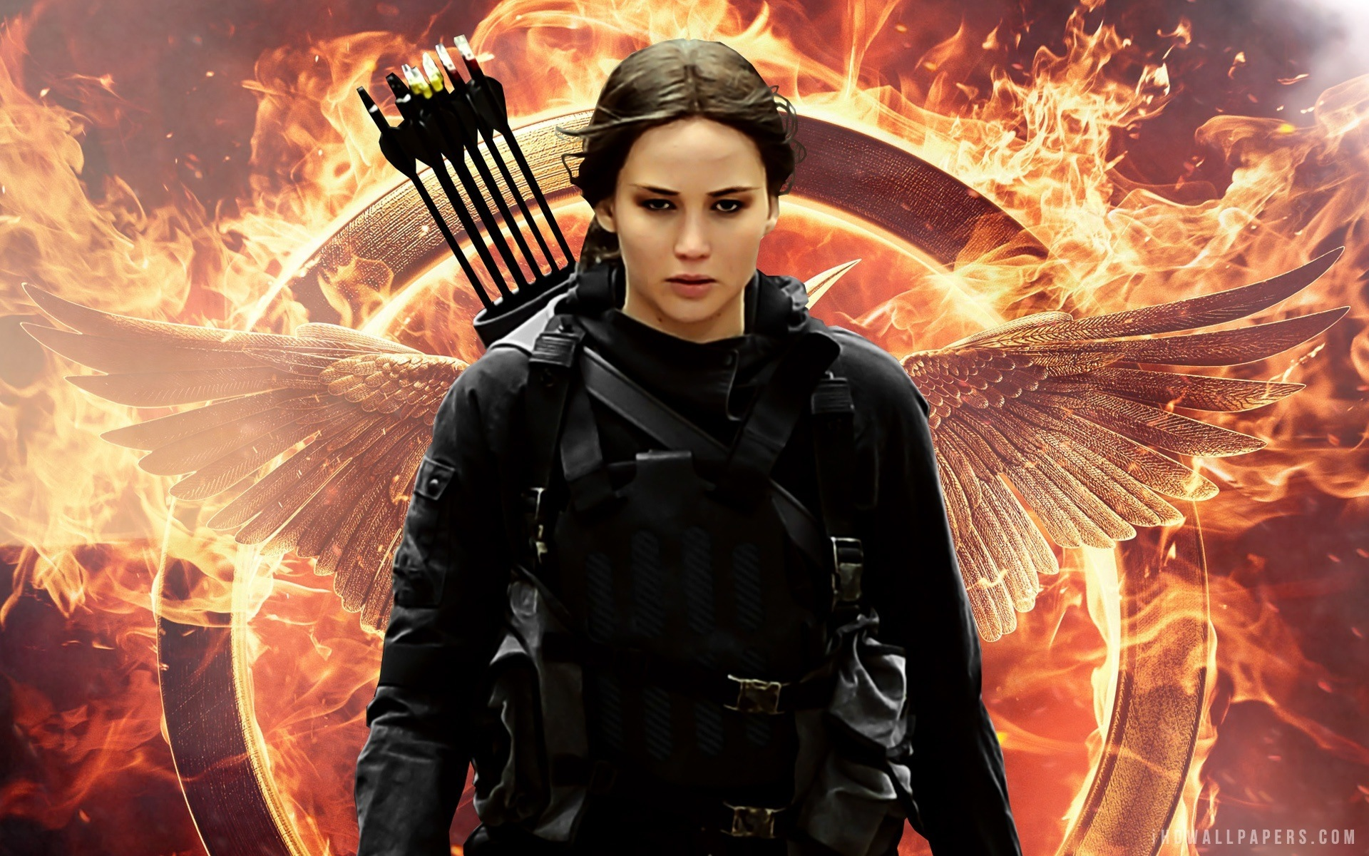 jennifer lawrence in the hunger games mockingjay part 2 2015