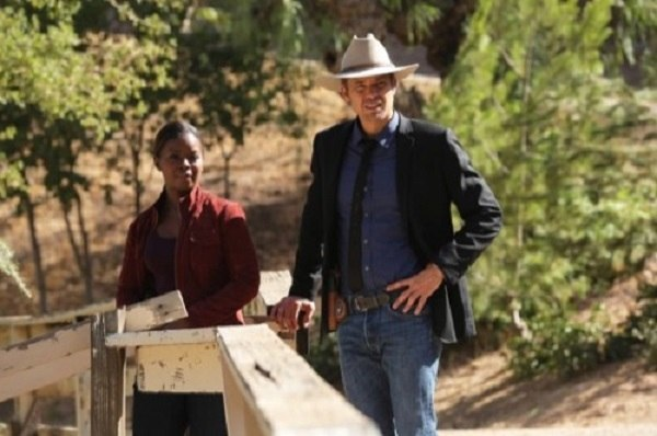 justified season 6 ep 3 black woman with timothy olyphant