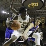 kansas beats baylor college basketball 2015 images