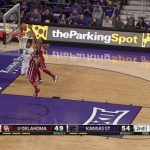 kansas state defeats oklahoma college basketball 2015 images