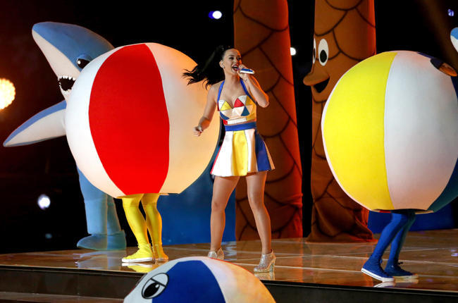katy perry super bowl xlix lip synch 2015 images