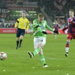 kevin du bruyne gives wolfsburg a lead on bayern munich 2015