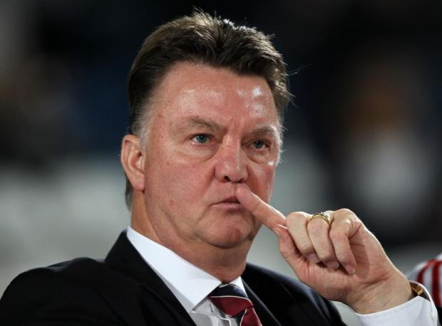 louis van gaal manager of manchester united rough patch 2015