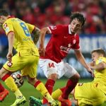 mainz vs hoffenheim german soccer 2015 images