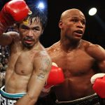 manny pacquiao fighting floyd mayweather 2015 images