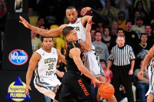 miami loses to georgia tech basketball 2015 images