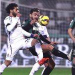 mohamed salah scores for fiorentina vs sassuolo 2015 images