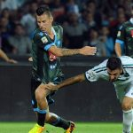napoli beats sassuolo serie a soccer 2015 images