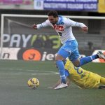 napoli defeats chievo verona serie a soccer 2015 images