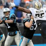 new orleans saints lose to carolina panthers wild card 2015 images