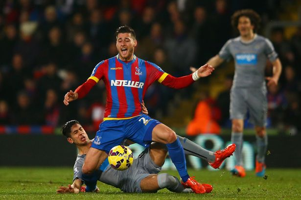 newcastle united ayoze perez bulge for crystal palace soccer draw 2015 images