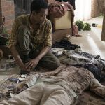 noah dealing with his mothers death on walking dead season 5 ep 9 images