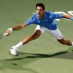 novak djokovic beats marsel ilhan dubai tennis open 2015 images