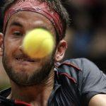 pablo cuevas smacks santiago giraldo balls hard for brasil tennis open 2015