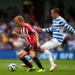 qpr beats sunderland premier league soccer 2015 images