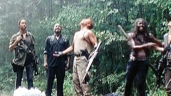 rain comes for the walking dead ep 10 them 2015
