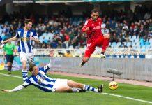real sociedad vs sevilla flying high la liga soccer 2015
