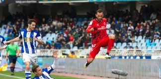 real sociedad vs sevilla flying high la liga soccer 2015