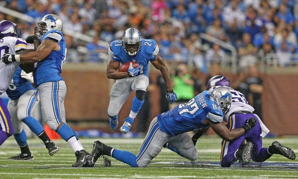 reggie bush running ball for detroit lions 2015 images