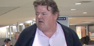 robbie coltrane denies drinking caused flu-like symptoms