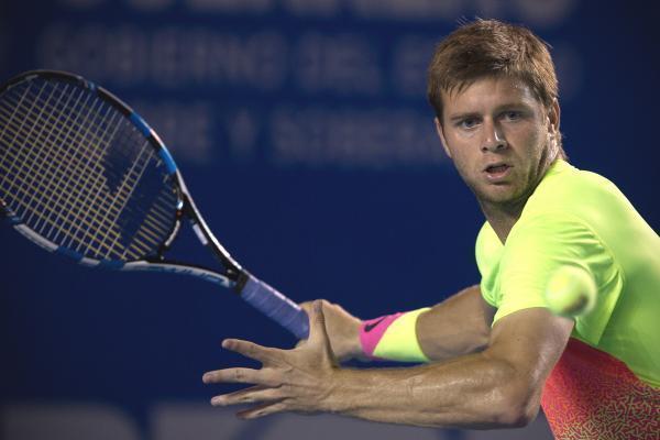 ryan harrison bare beats ivo karlovic back atp acapulco tennis 2015