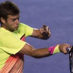ryan harrison returning david ferrers balls for atp acapulco 2015 images