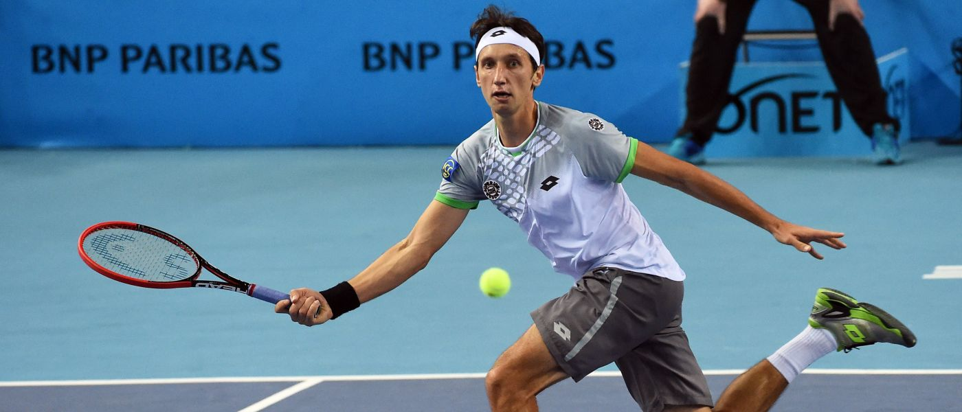 sergiy stakhovsky loses to gilles simon 2015 atp marseille