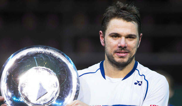 Stan Wawrinka Wins ABN Amro World Tennis Tournament Finals 2015