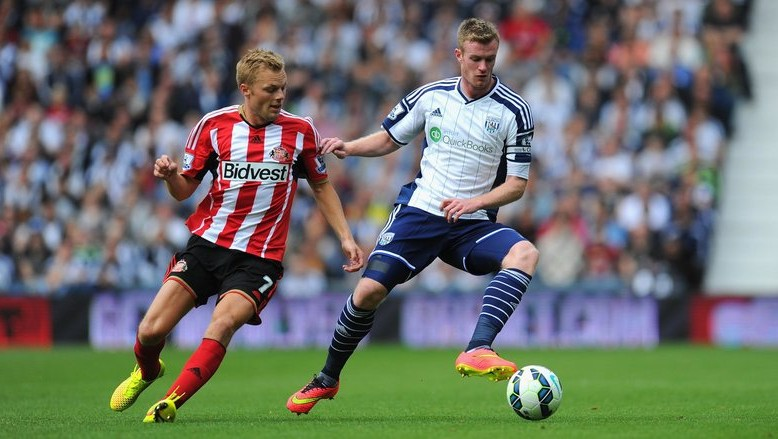 sunderland draw with west brom premier league 2015