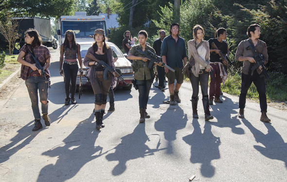 THE WALKING DEAD Season 5 Ep 11 Recap Aarons Community