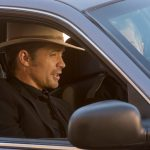 timothy olyphant justified riding in cars with boys 2015 images
