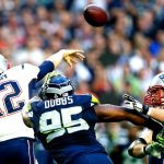 tom brady passing sack patriots in super bowl xlix 2015 images