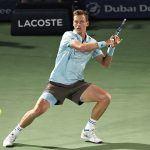 tomas berdych loses to novak djokovic dubai tennis semis 2015