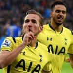 tottenham harry kane up with gareth bale 2015 soccer