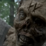 walking dead season 5 zombie with w on forehead 2015 images