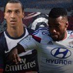zlatan ibrahimovic vs alexandre lacazette france ligue 1 2015