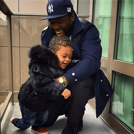 50 cent son sire lands big modeling contract 2015