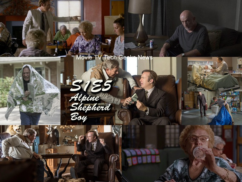 Better Call Saul Ep 5 Recap Elder Care & Alpine Shepherd Boy
