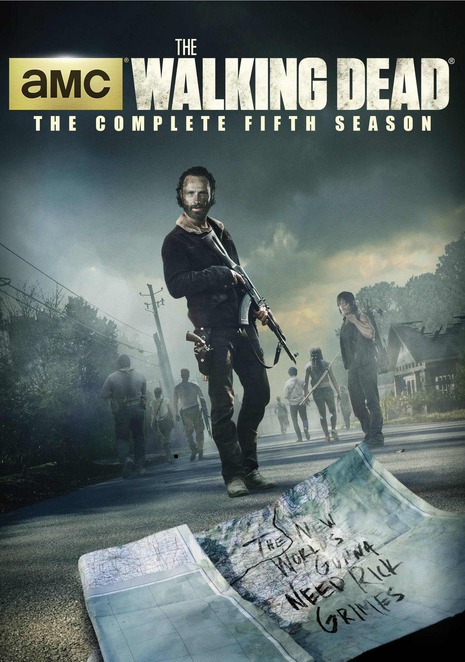 the walking dead season 5 box set hits august 2015 images