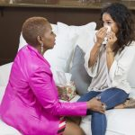 Karrueche tran kicks iyanla out of her house oprah 2015 gossip