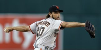 Madison Bumgarner struggling first week of spring training 2015