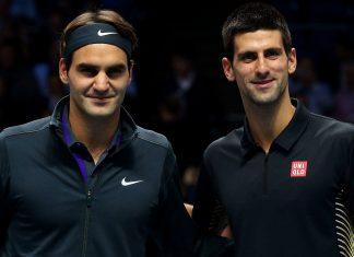 Novak Djokovic vs Roger Federer for indian wells finals 2015