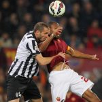 Seydou Keita scores soccer goal for as roma 2015 images