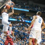 Willie Cauley-Stein scores for kentucky ncaa 2015