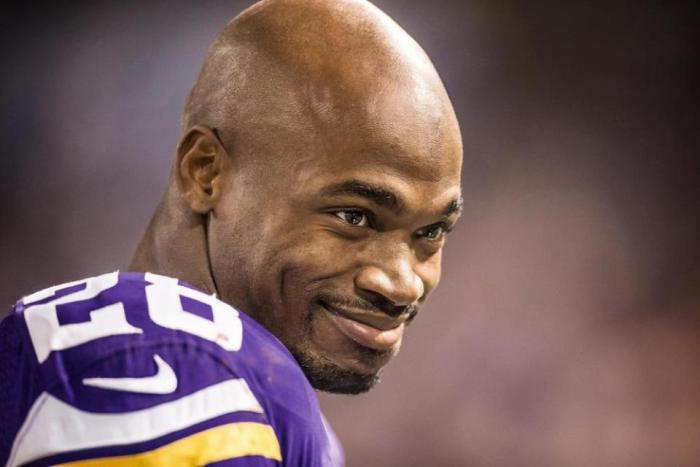 adrian peterson not wanting to be a vikings nfl 2015